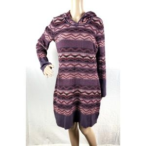 Prana XL Meryl Sweater Dress | Hooded